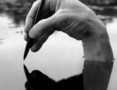 Business spiritualiteit is als schrijven in water